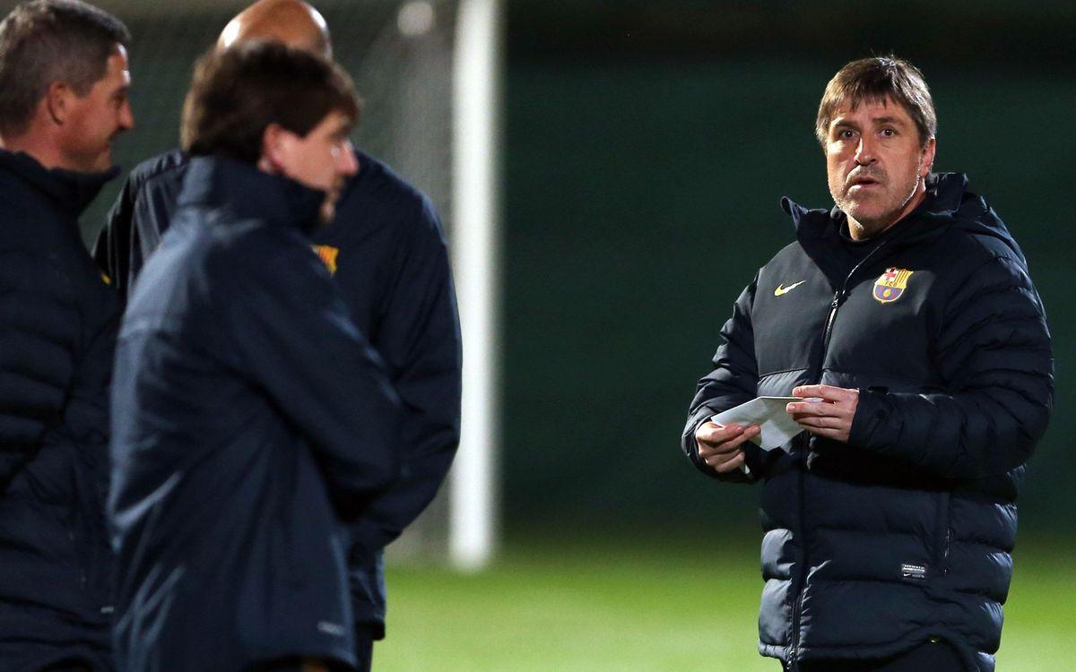 Roura to lead Barça in Tito Vilanova's absence