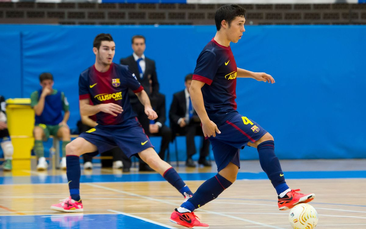 Gran triomf del Barça Alusport B a la pista de l'històric Playas de Castelló (5-10)