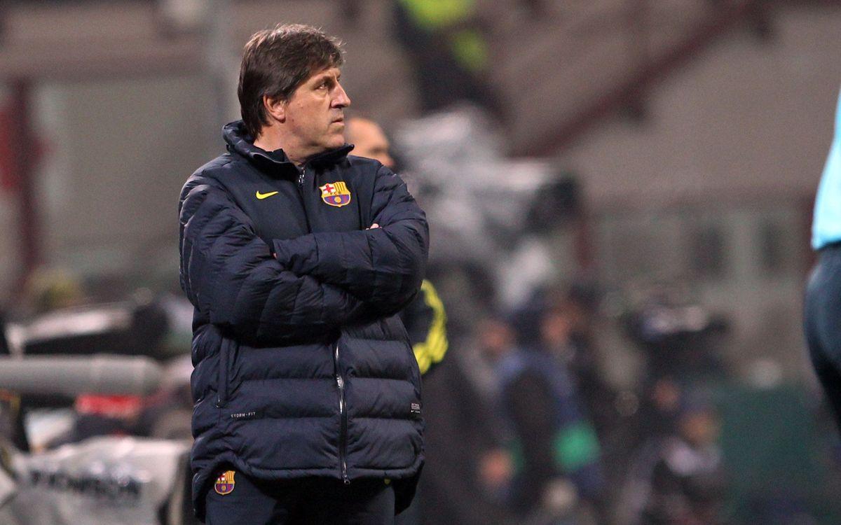 """Jordi Roura: """"Nous sommes convaincus que nous passerons"""""""