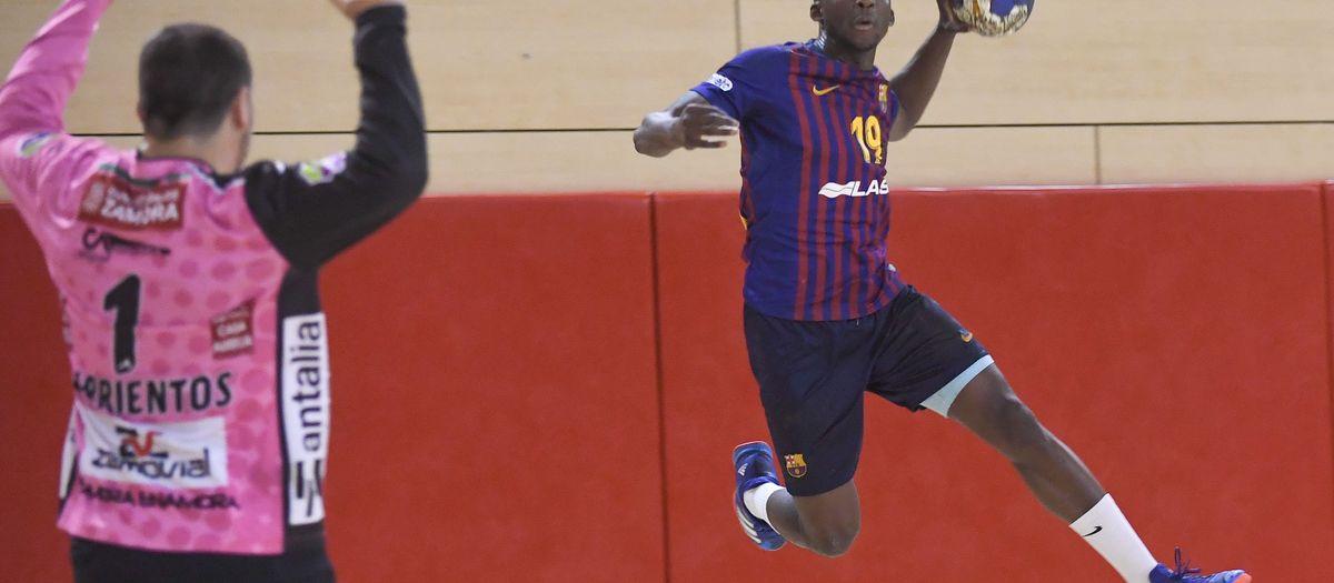 Barça Lassa B – MMT Seguros Zamora (36-41): Encallats en el segon temps