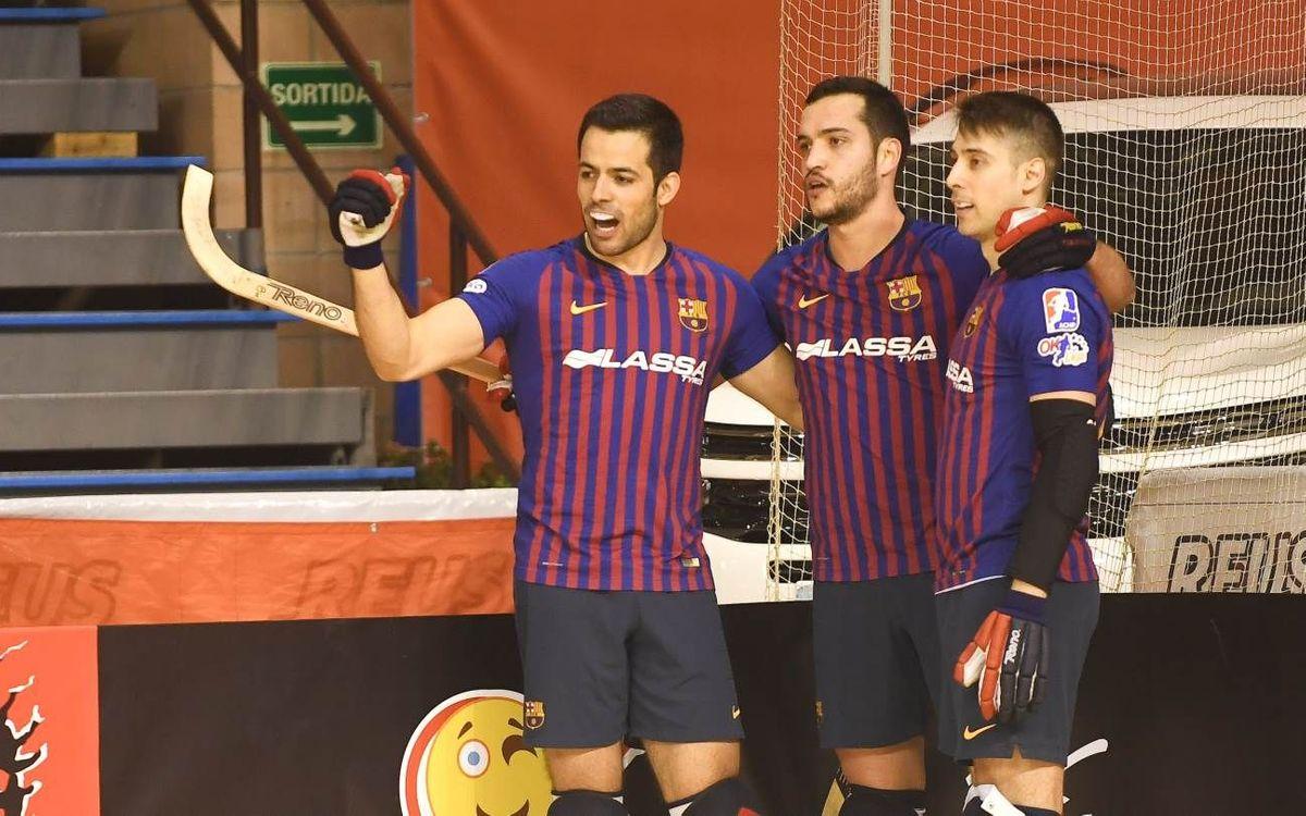 Citylift Girona 2-3 Barça Lassa: Still going strong