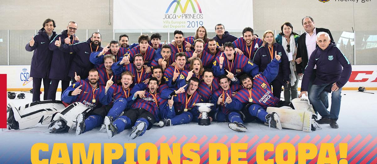 El Barça es proclama campió de la Copa del Rei 2019