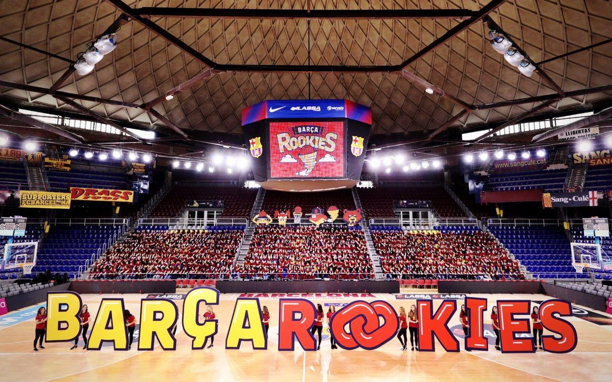 Récord de Barça Rookies en el Palau
