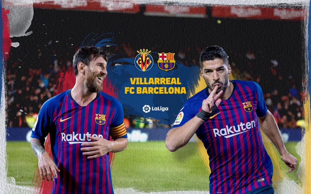 Cuándo y dónde ver el Villareal - Barça