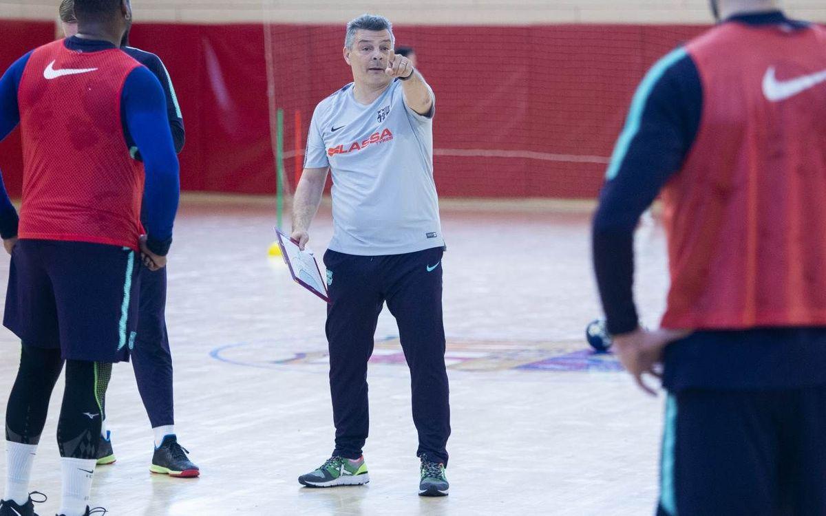 """Xavi Pascual: """"A la Copa hem de jugar tres finals"""""""