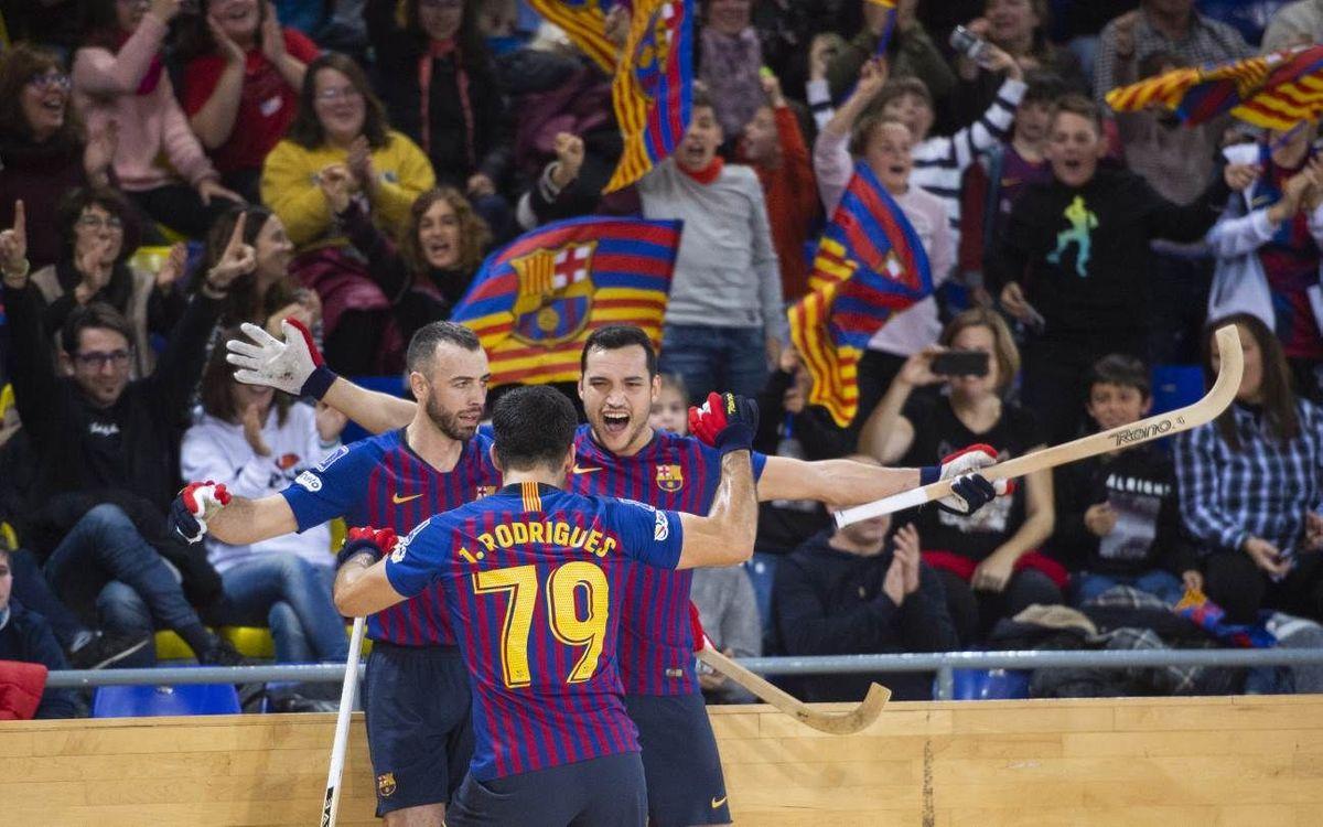 ¡Cinco motivos para venir el sábado al Palau Blaugrana!