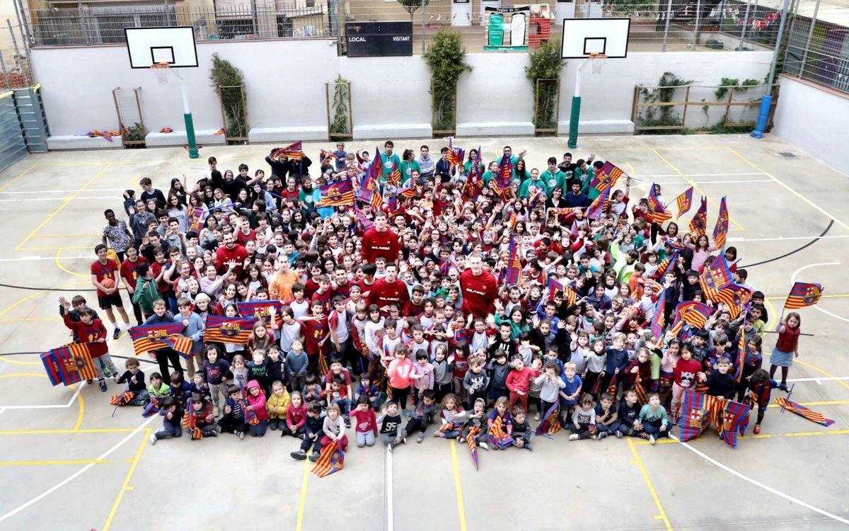 La Escuela Vedruna Gracia, segunda visita del curso
