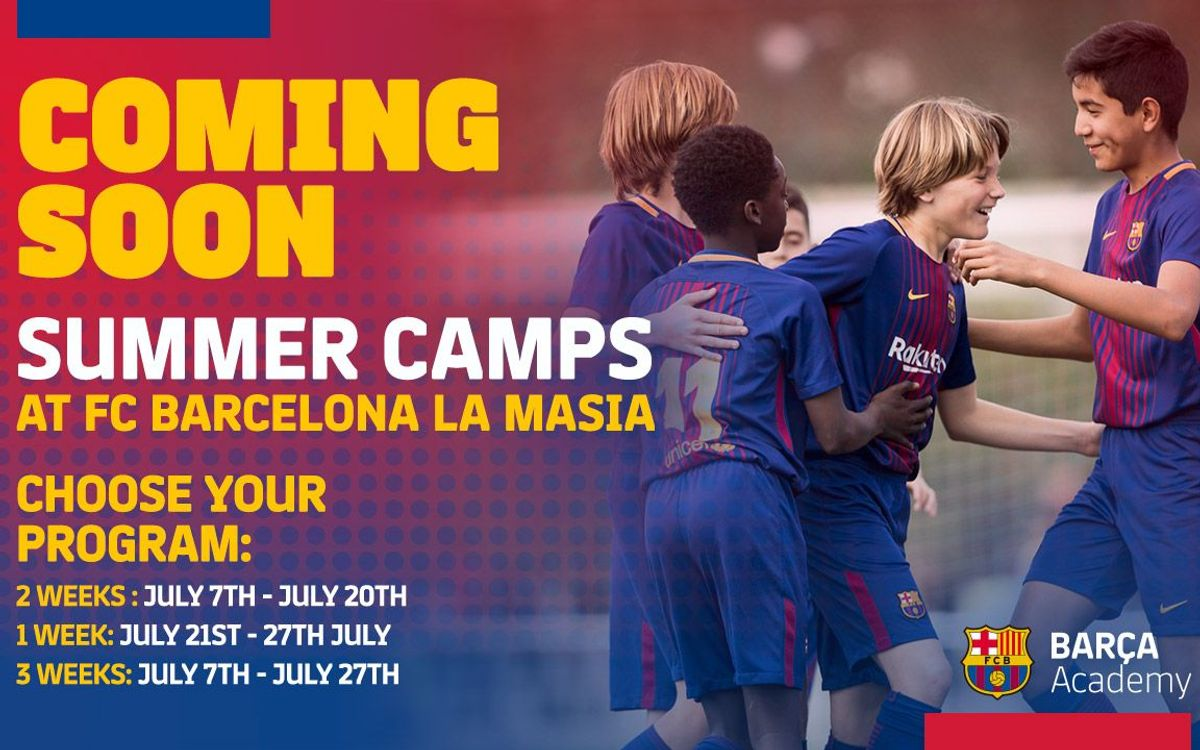 FC Barcelona organizing first residential summer camp at Club training center