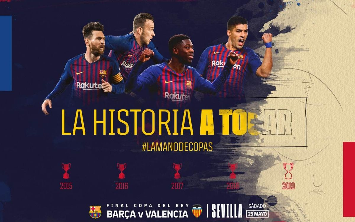 Payment period for the 11,792 tickets requested for the Copa del Rey final