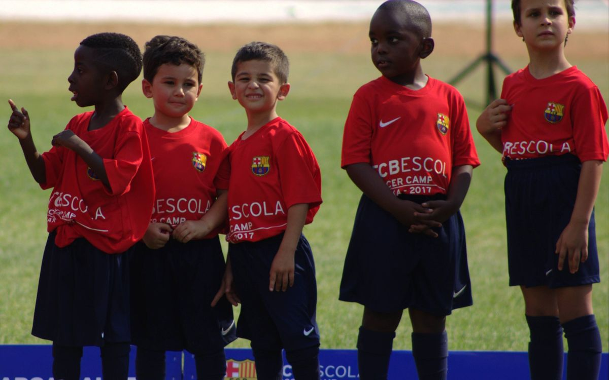 Lusaka becomes third African city to host FCBEscola project