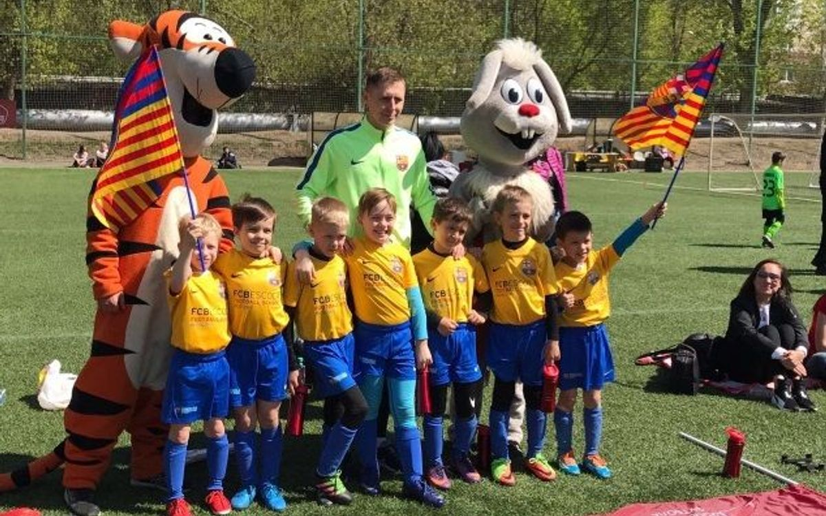 Silver and bronze for the FCBEscola teams in the Moscow Football Festival