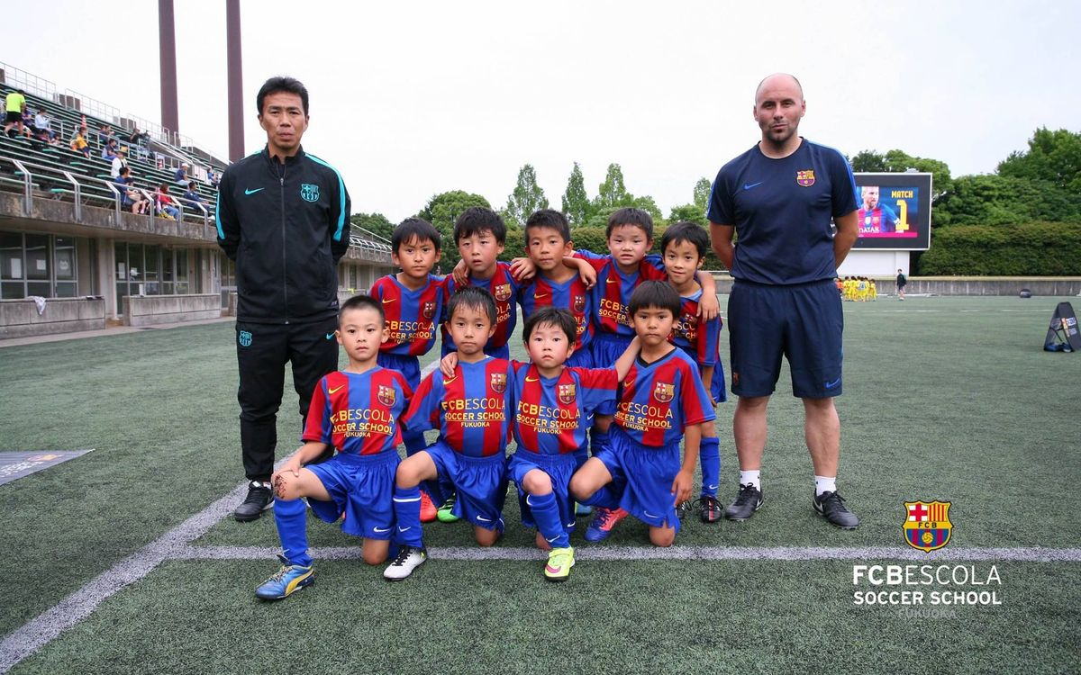 FCBEscola Fukuoka adopts Catalan rules for Copa Tito Vilanova