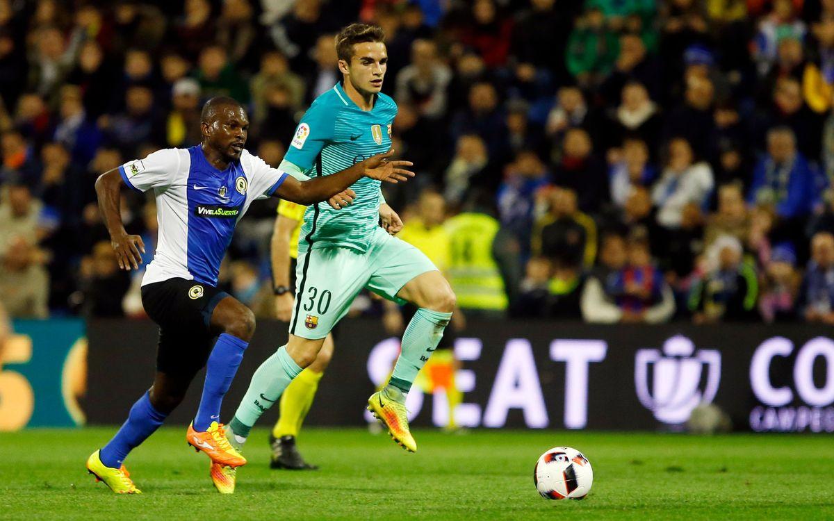 Àlex Carbonell, tercer jugador de la FCBEscola que debuta con el primer equipo del Barça