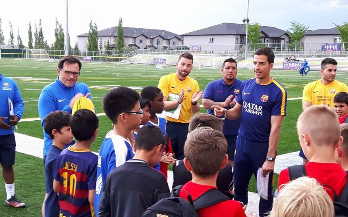 FCBEscola Edmonton takes in those affected by Fort McMurray wildfire