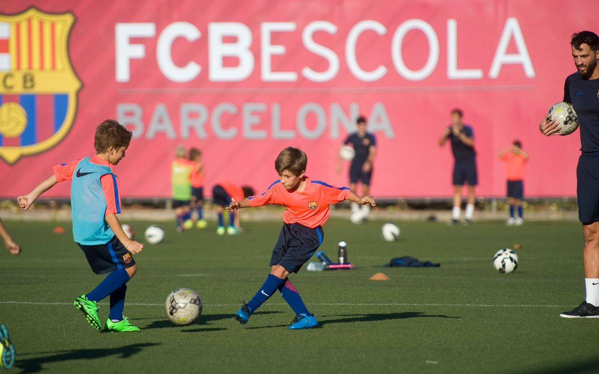 Back to school at FCBEscola