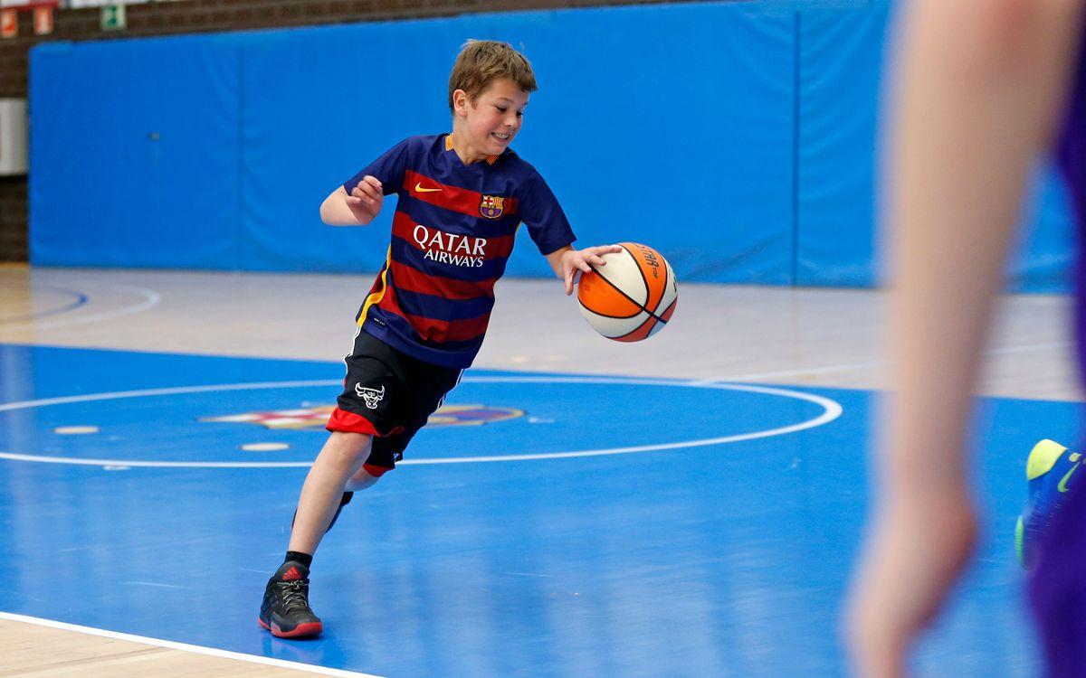 La il·lusió de formar part de l'FCBEscola Basket