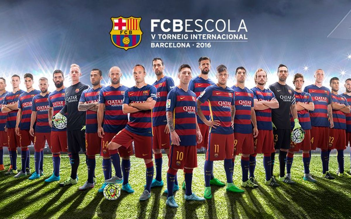 Share your photo at the FCBEscola Tournament and win a signed FC Barcelona jersey