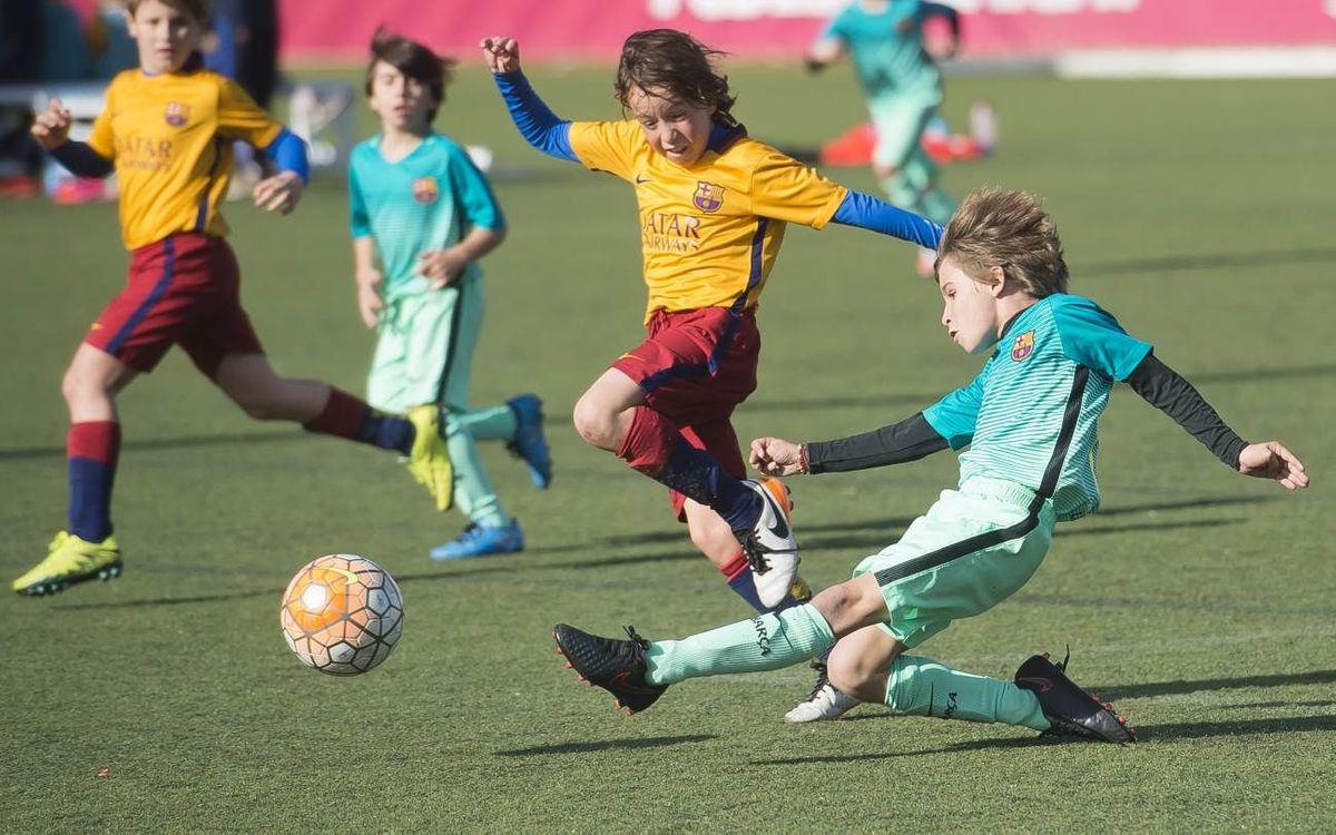 Arranca la recogida solidaria de material deportivo de la FCBEscola y la Fundació