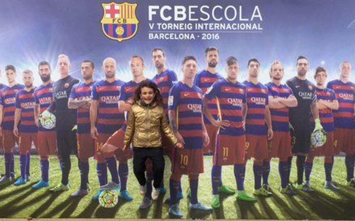 El sorteig del V Torneig Internacional #FCBEscola ja té guanyador
