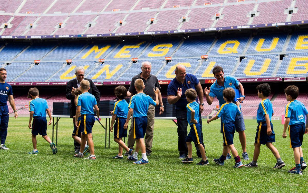 Fin de curso de la FCBEscola Barcelona 2015/2016
