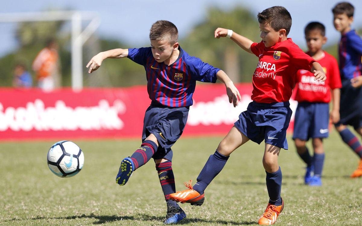 El FC Barcelona reabre sus escuelas de fútbol Barça Academy en Brasil en Rio y Sao Paulo