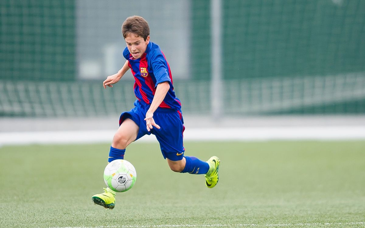 FCBEscola player Marc Pelaz makes Spain Under-15 team