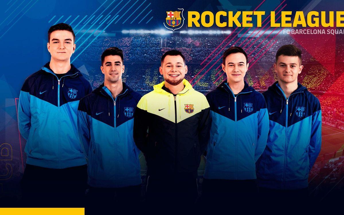 El FC Barcelona refuerza su apuesta por los eSports con un equipo de Rocket League