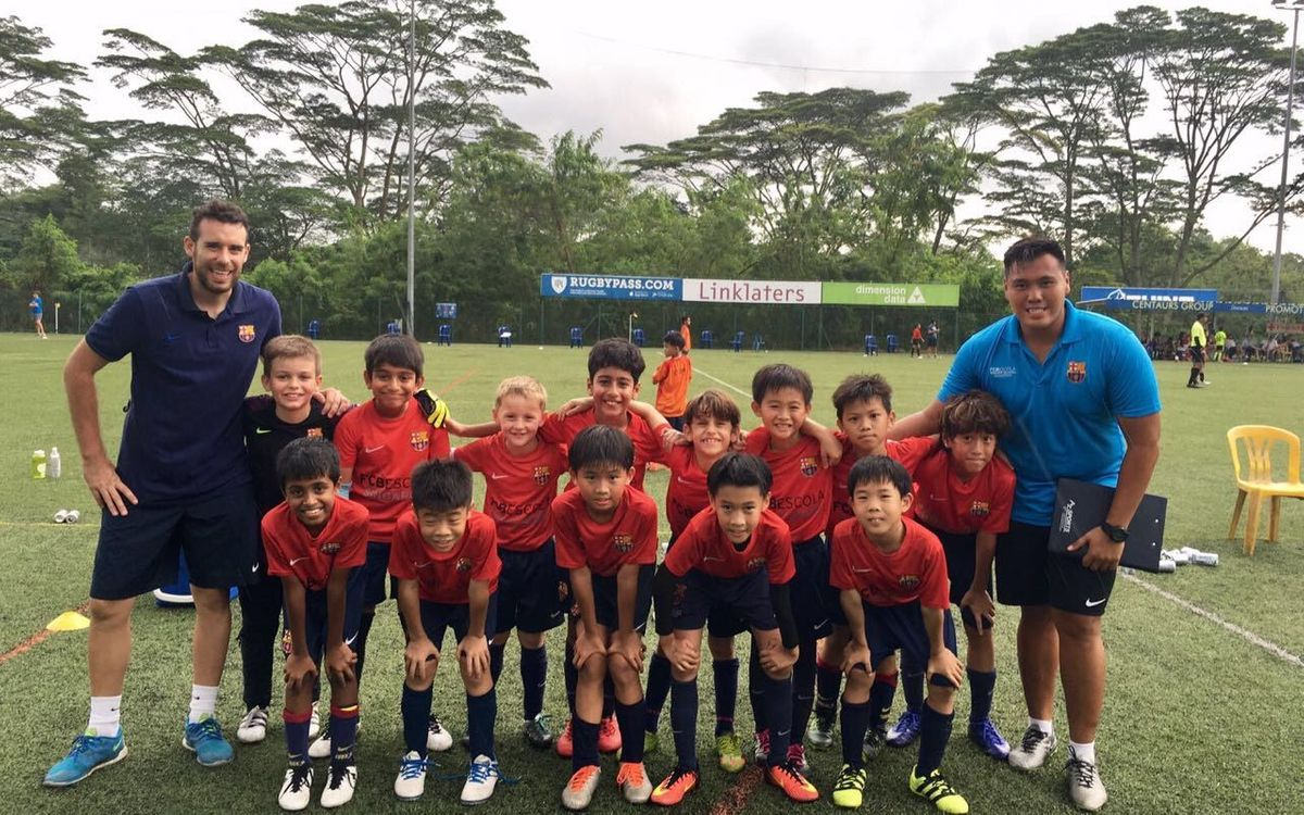 FCBEscola Singapore off to hot start in ESPZEN Junior League