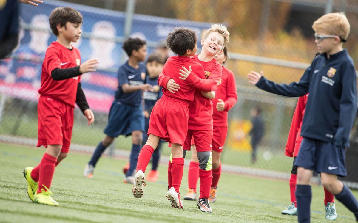 Tres nuevas FCBEscolas en Montreal, Virginia y Dammam