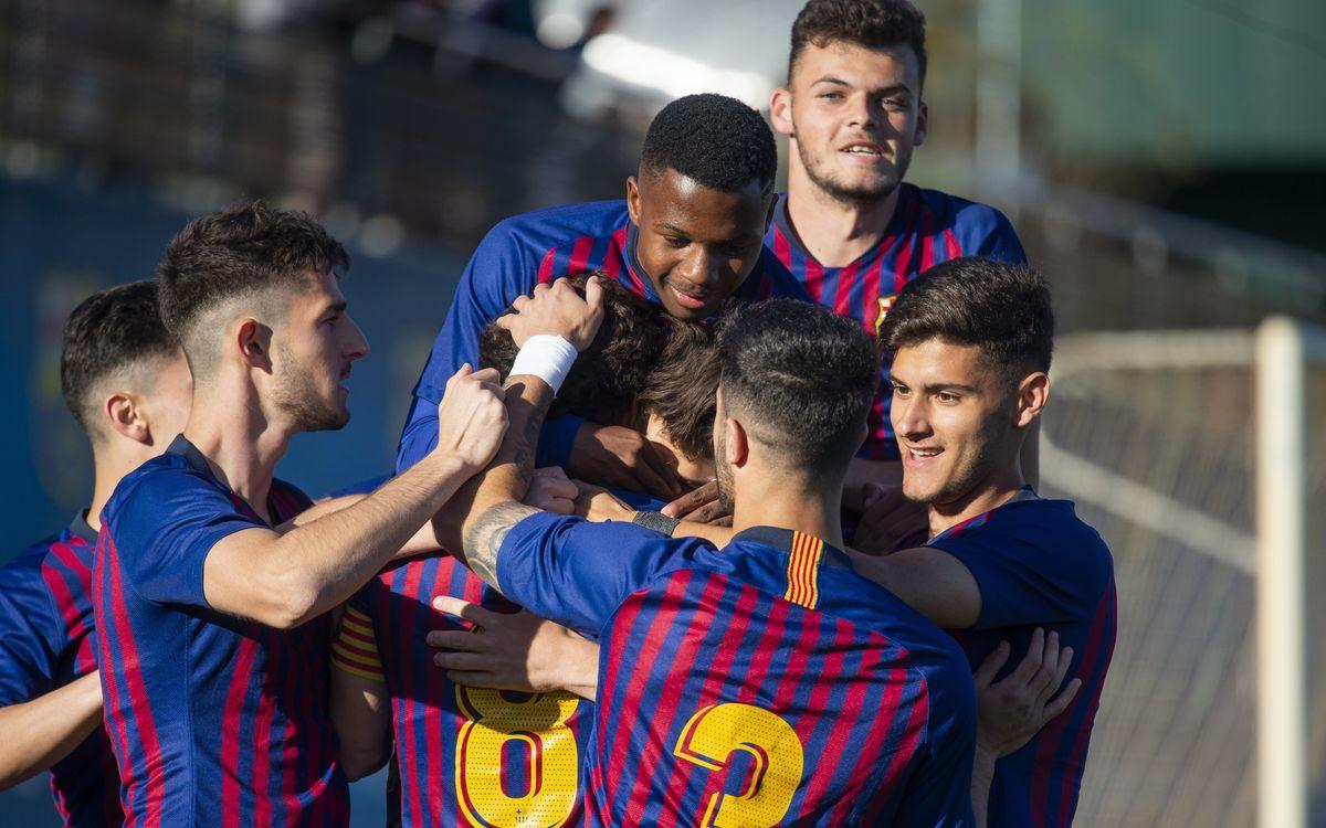 Juvenil A - Girona: Lucharán la Liga hasta el final (2-0)