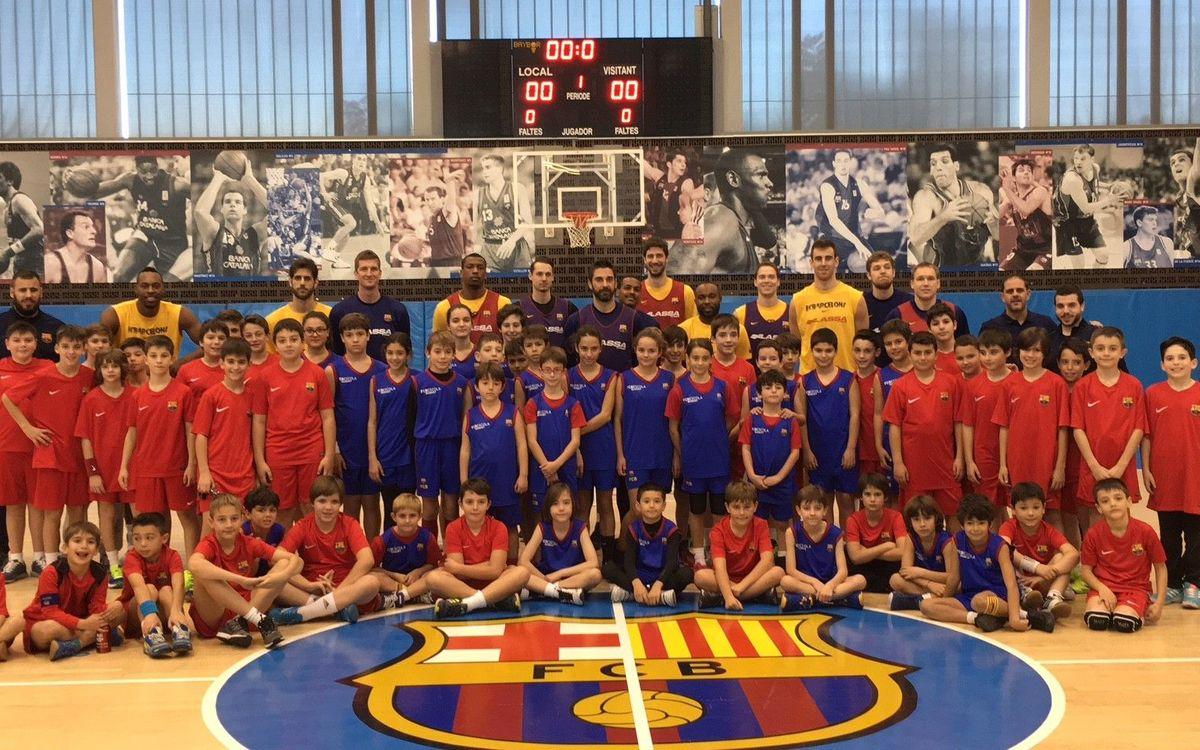 El Campus de Nadal FCBEscola más participativo cierra 2016 con gran éxito