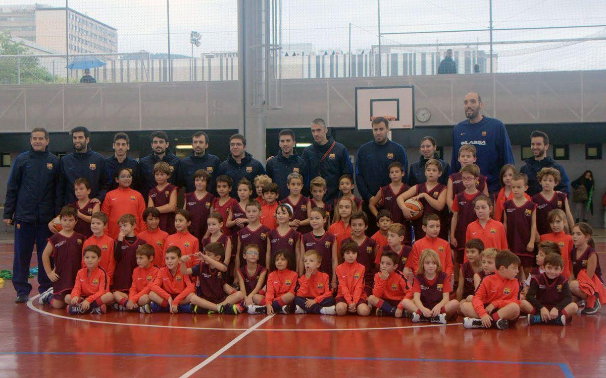 Arrenca la Lliga a l'FCBEscola Basket