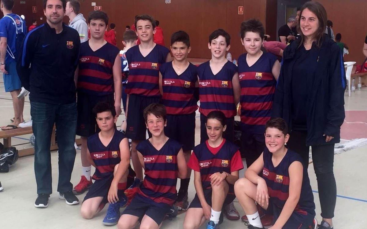 Debut de l'FCBEscola Basket en el seu primer torneig internacional