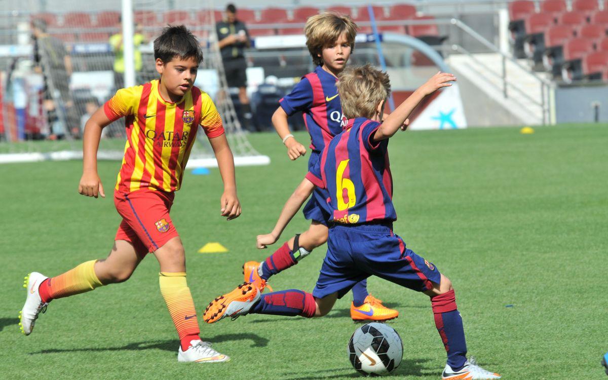 Jornada de cloenda del curs 2015-2016 a l'FCBEscola Barcelona