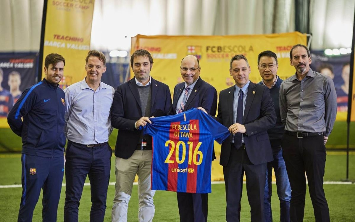 FCBEscola inaugurates Ottawa School, the fourth in Canada