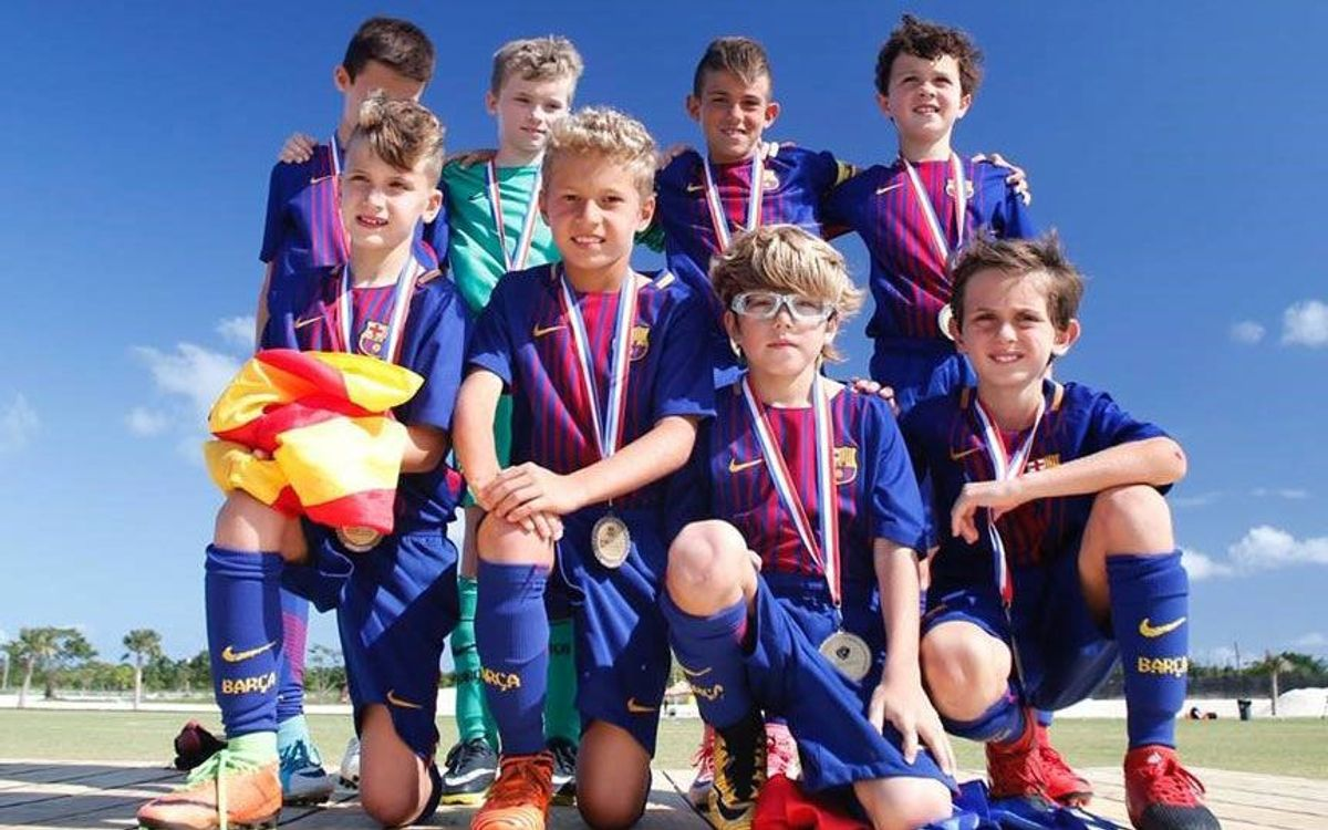 FCBEscolas from Barcelona and Dominican Republic win big at International Tournament