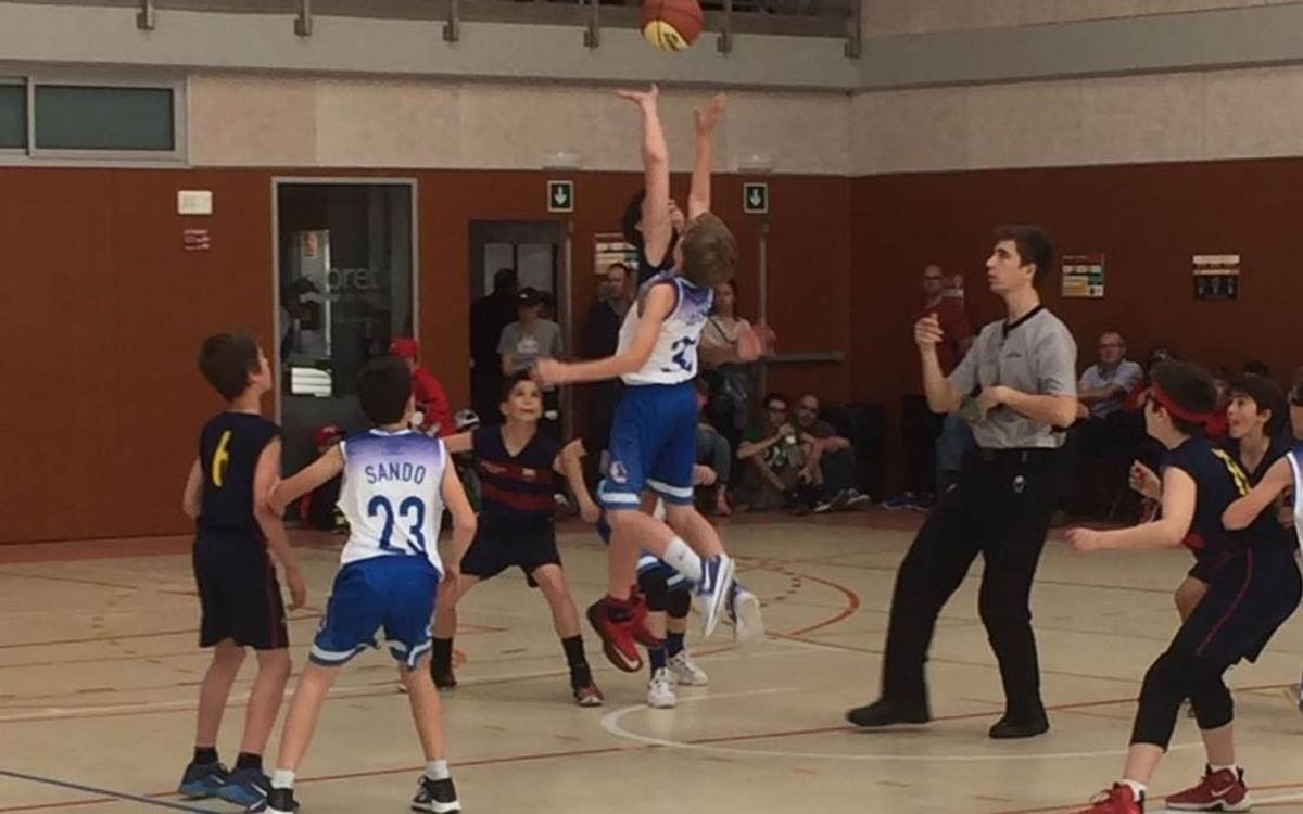 Subcampionat per a l'FCBEscola Basket en el seu debut internacional