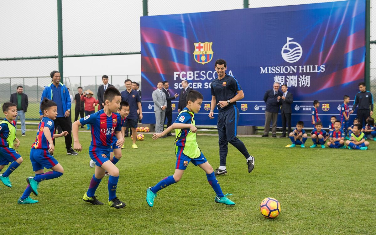 Trials to begin for coaches at FCBEscola Haikou