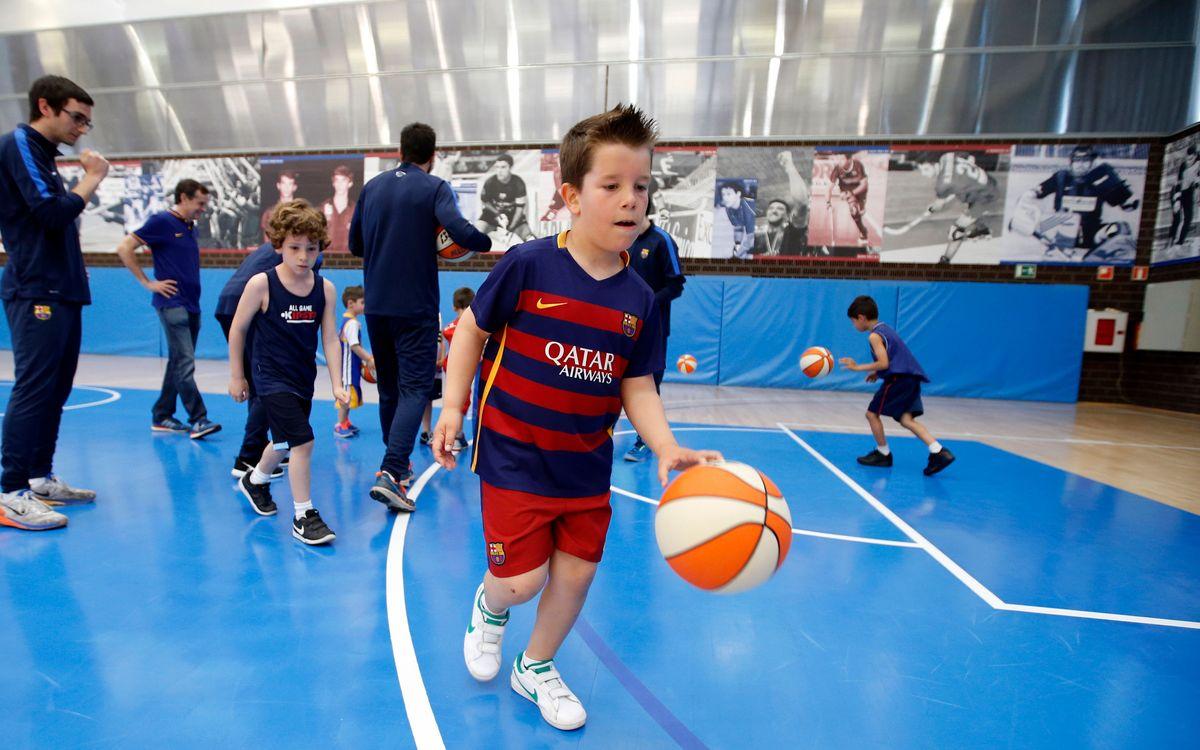 Últimas plazas para jugar en la FCBEscola Basket