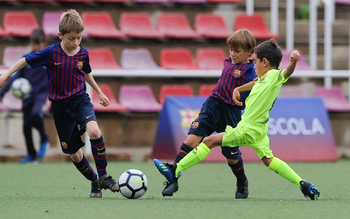 The registration period is now open for Barça Escola Barcelona tryouts for the 2019/20 season