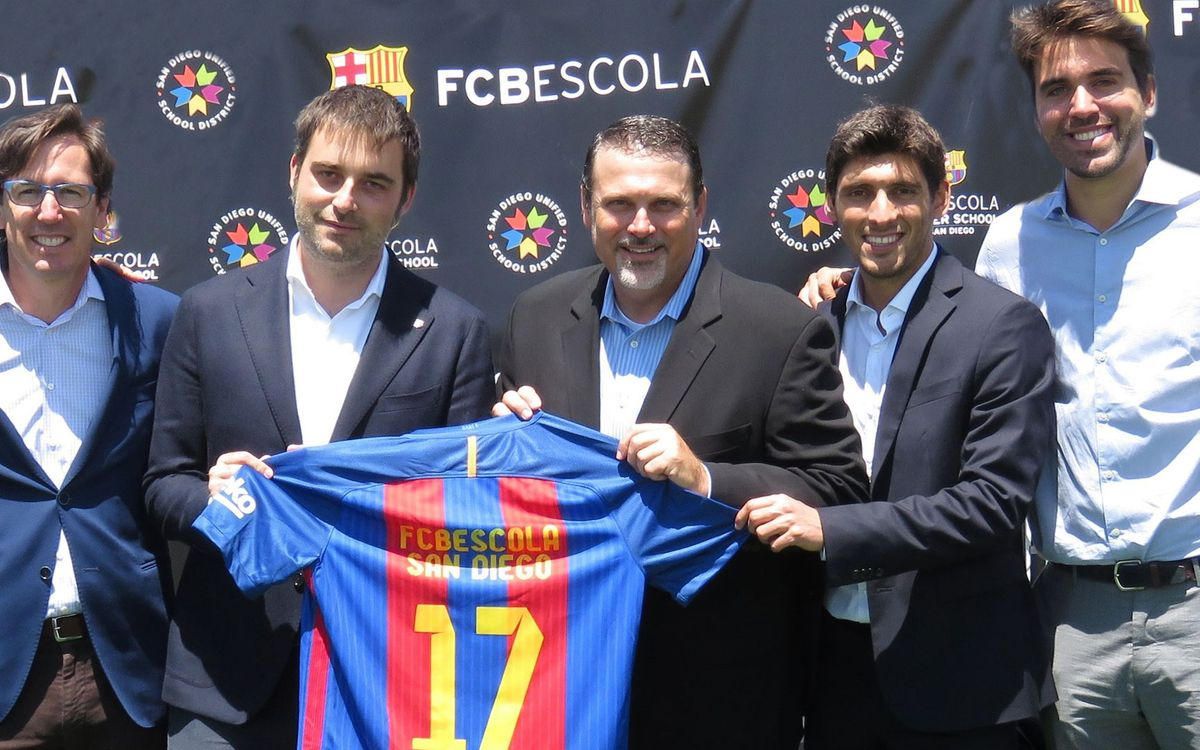 San Diego, first FCBEscola branch on the West Coast