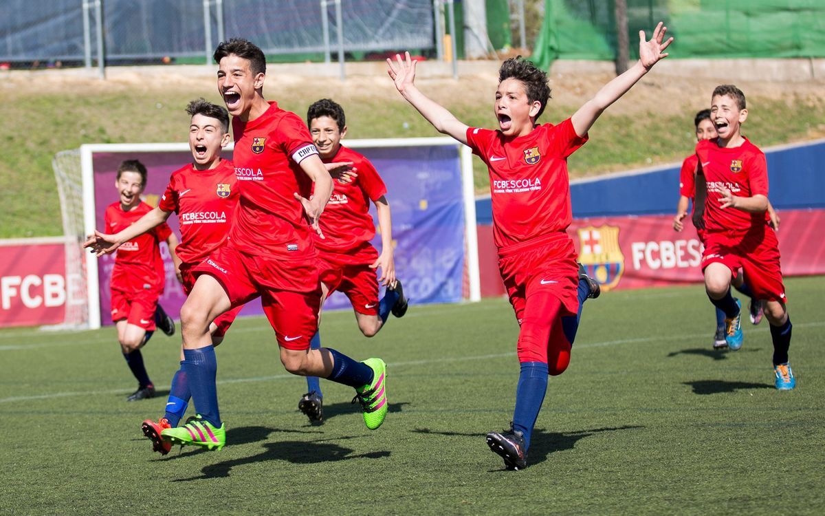 The fifth International FCBEscola Tournament by the numbers