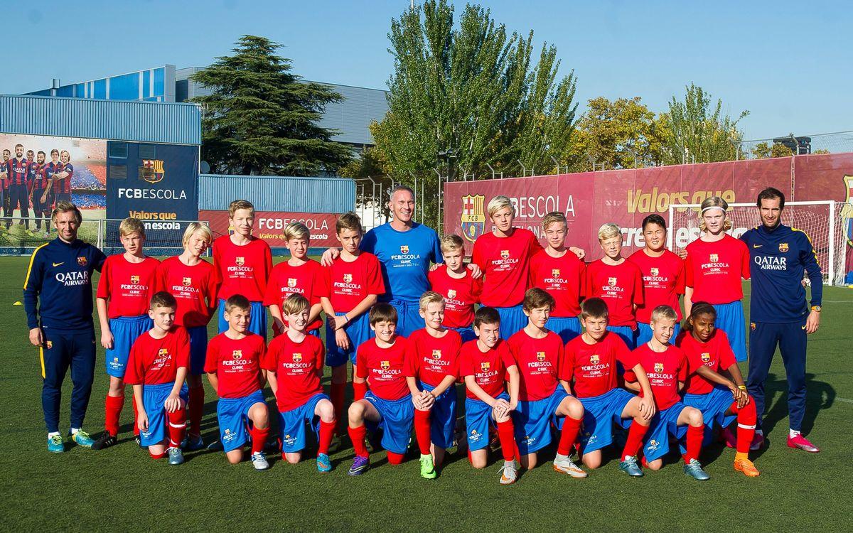 Patrick Andersson coneix els mètodes d'entrenament de l'FCB Escola