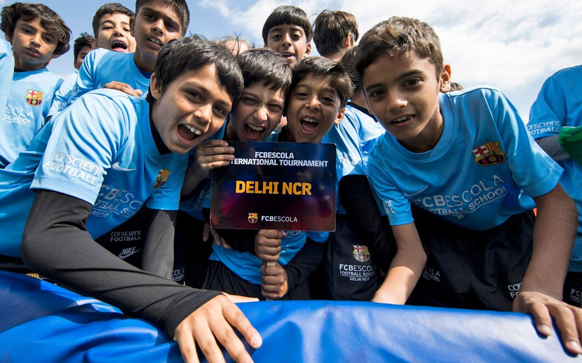 "FC Barcelona chooses Bangalore, India's ""Silicon Valley"", for the third Barça Academy in the country"