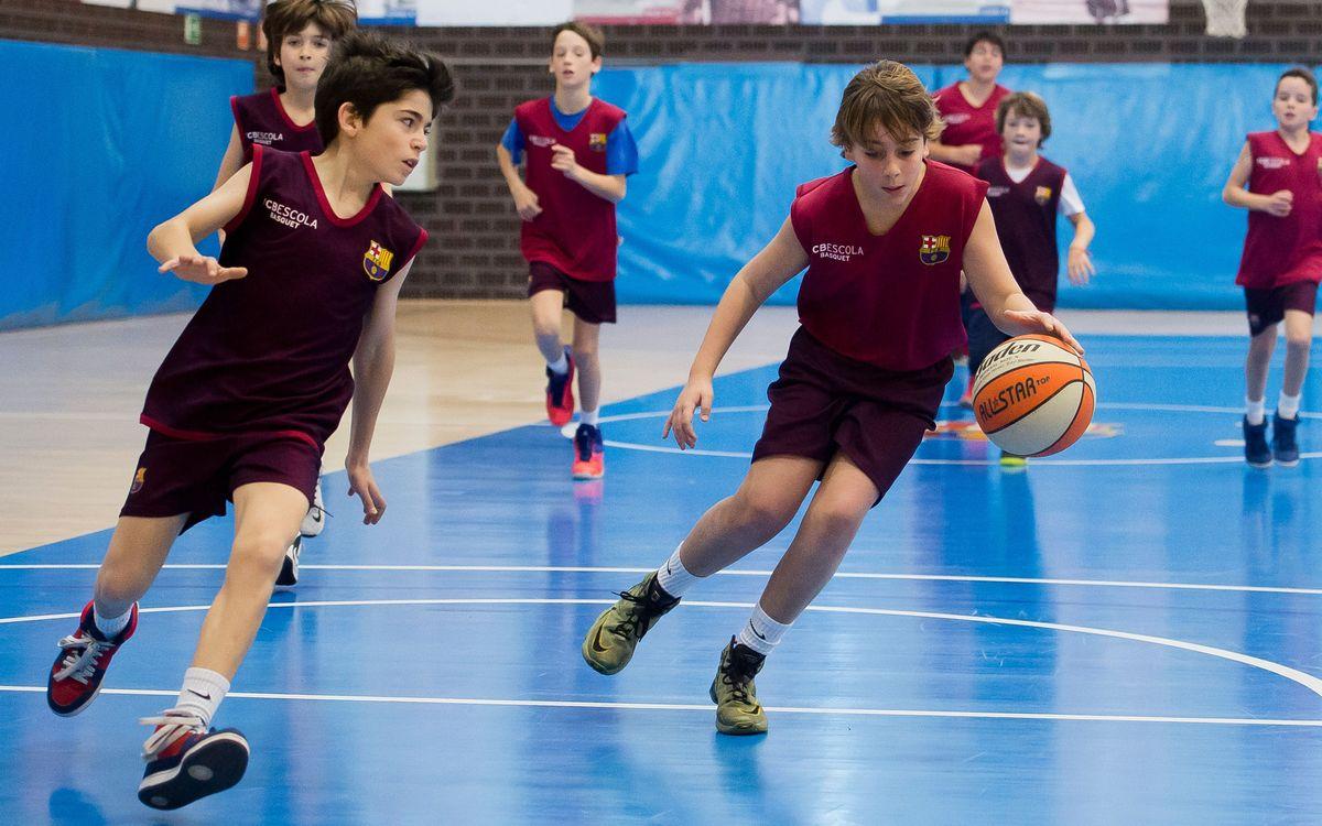 FCBEscola Barcelona Basket empieza la competición