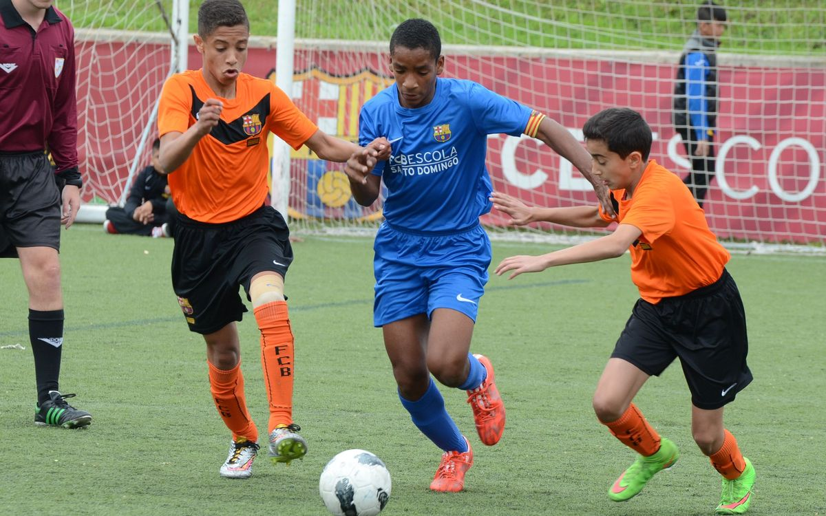 FCBEscola Santo Domingo sending most teams to 5th International Tournament