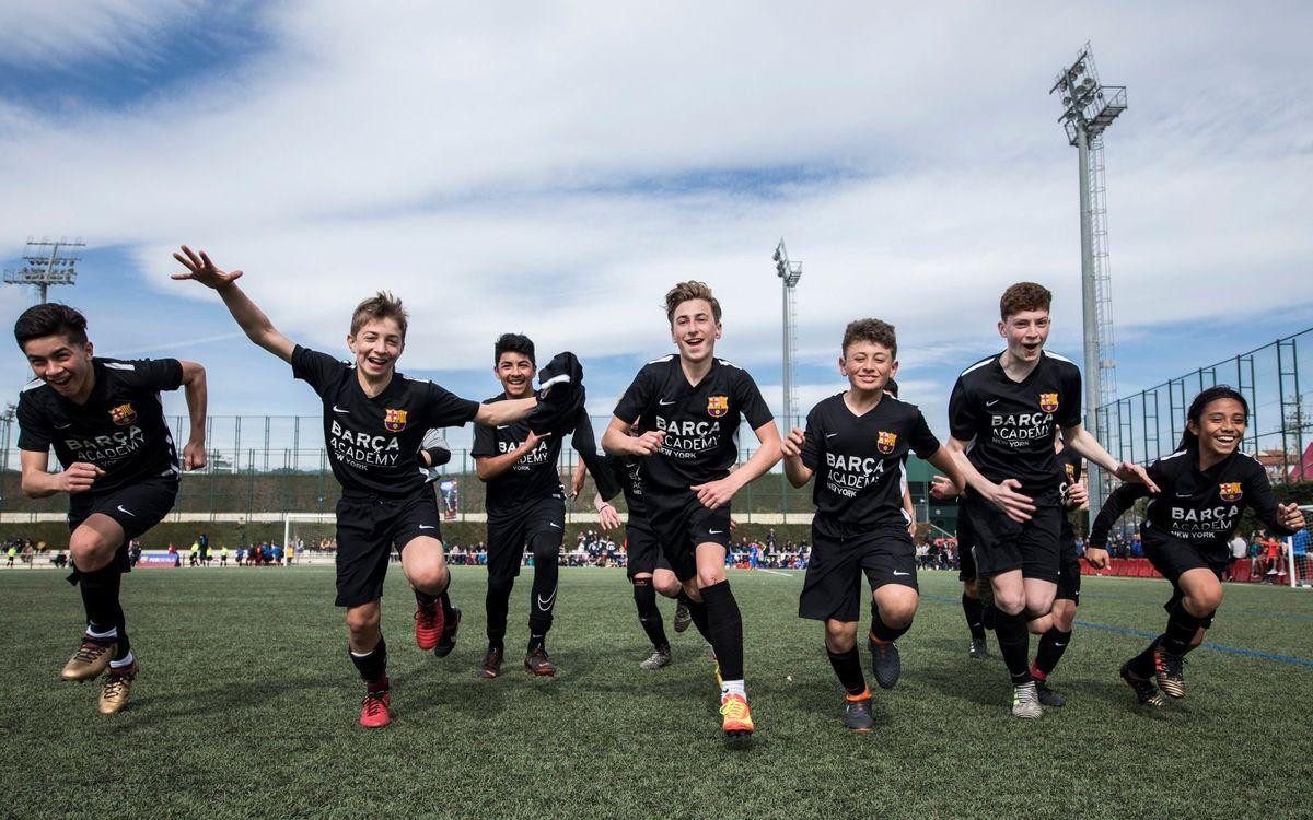 La FCBEscola pasa a llamarse Barça Academy