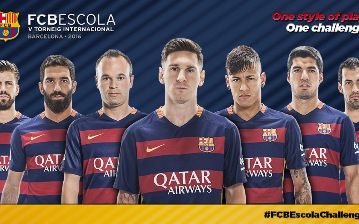 Fifth International FCBEscola Tournament to get underway