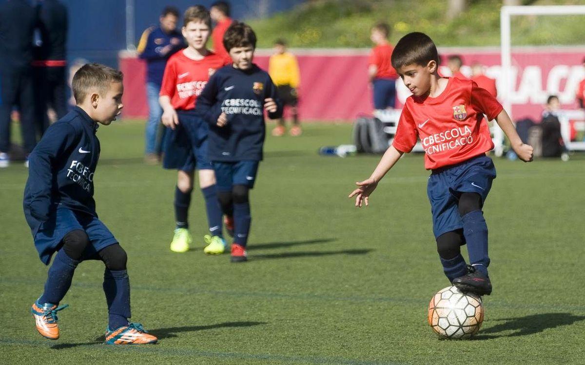 """Inscripcions obertes per a """"Les clases del Barça"""" de Juny"""