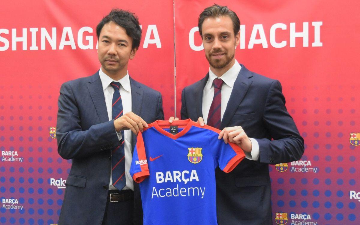 La Barça Academy abre su cuarta escuela de fútbol en Japón, en Shinagawa Oimachi